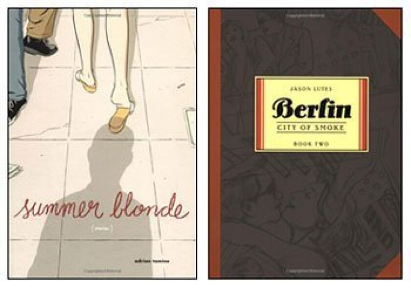 """Adrian Tomine's """"Summer Blonde"""" includes stories from his Optic Nerve comics, and Jason Lutes, at Comic-Con today, has a new book in his """"Berlin"""" series."""