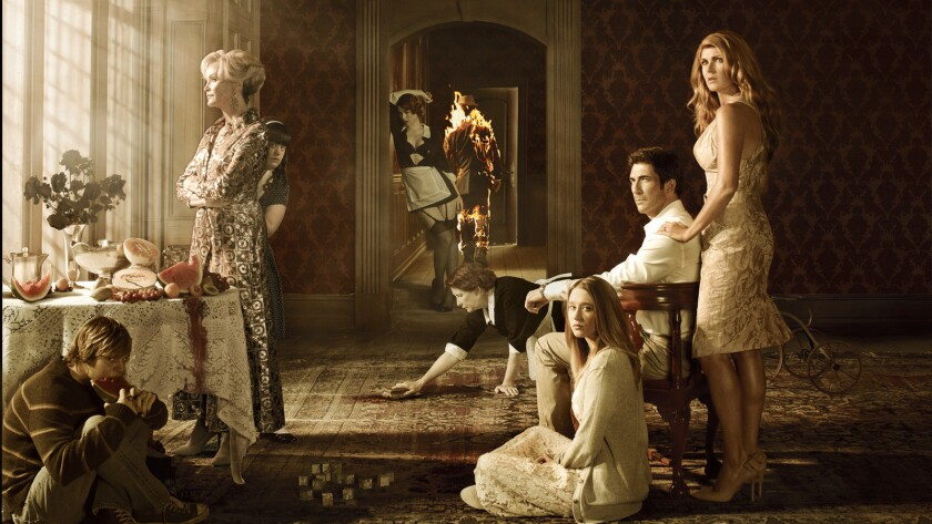 """The FX TV series """"American Horror Story"""" relocated to Louisiana after filming in Los Angeles."""