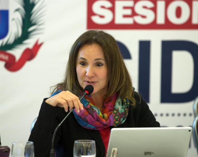 La comisionada de la Comisión Interamericana de Derechos Humanos (CIDH) Flavia Piovesan. EFE/Archivo