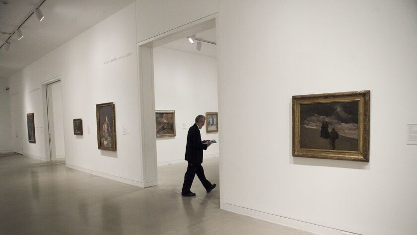 "Orange County Museum of Art's exhibit ""American Mosaic"". Photo taken on Wednesday, October 26, 2016."