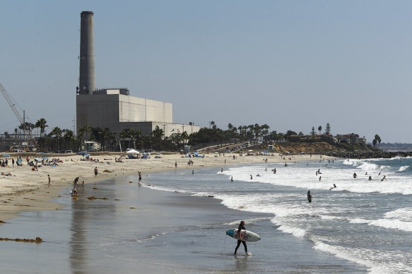 The Encina Power Station in Carlsbad.