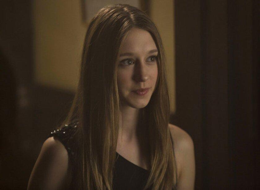 "Taissa Farmiga as Zoe in FX's ""American Horror Story: Coven."""