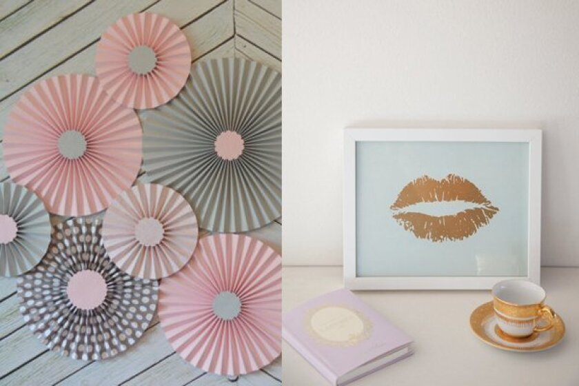 Featured Etsy sellers The Papier Studio (L), TarynStMichele (R)