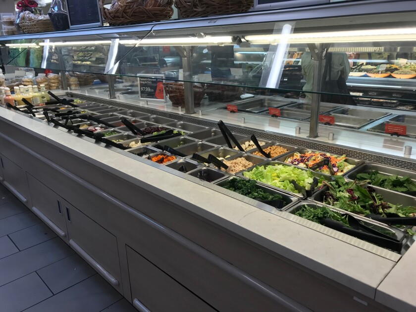 To Inga, seeing the salad bar at Gelson's after a 15-month absence was like a mirage in the Sahara.