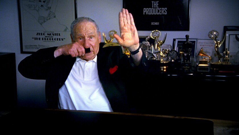 """Mel Brooks in the documentary """"The Last Laugh."""""""