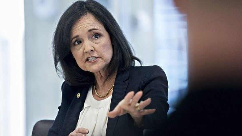 Judy Shelton, U.S. executive director for the European Bank for Reconstruction and Development, during an interview in Washington earlier this year.