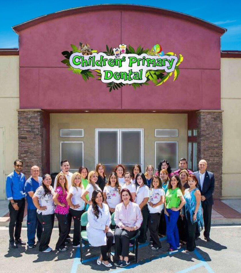 Professionals from Children's Primary Dental Group.