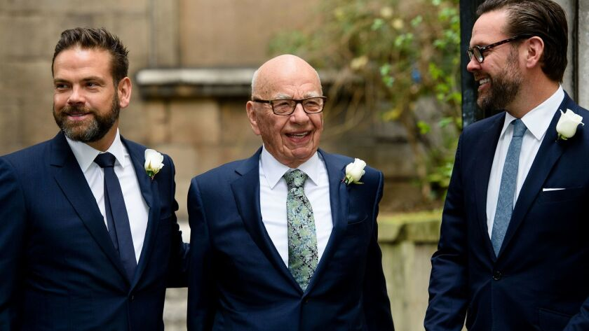 BRITAIN-AUSTRALIA-US-MEDIA-MARRIAGE-MURDOCH-HALL