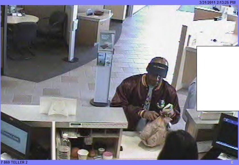 Bank surveillance photo/FBI