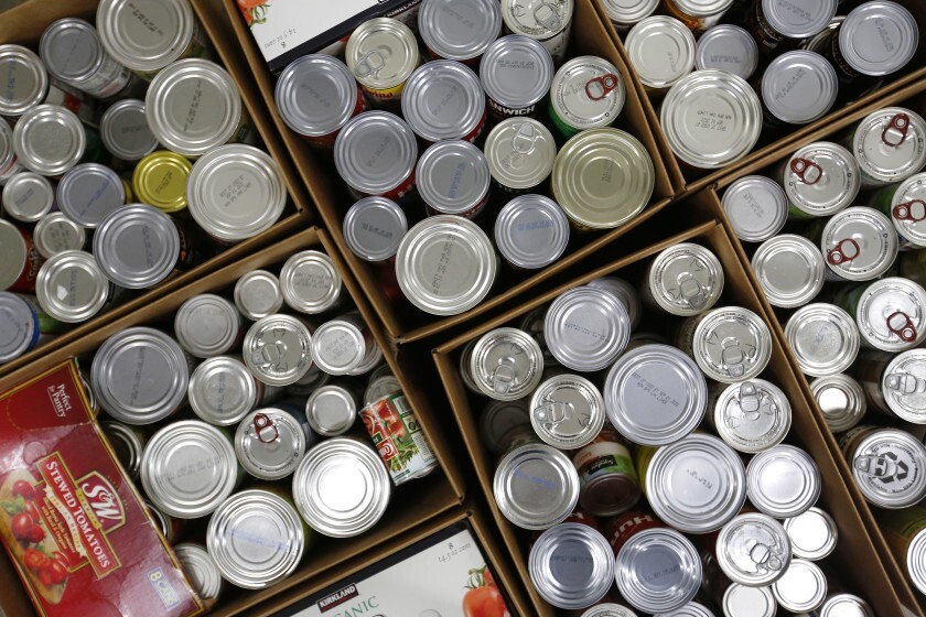 Ocean Knoll Elementary School PTA's Thanksgiving food drive runs through Nov. 19.