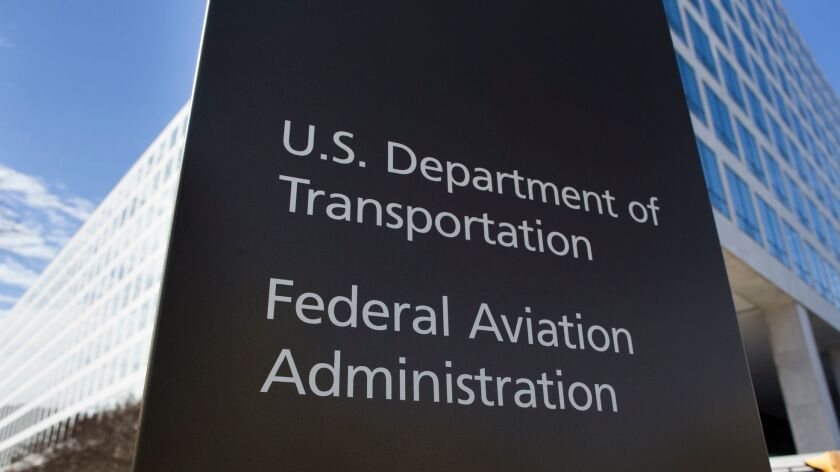 US Federal Aviation Administration grounds all Boeing 737 Max 8 planes effective immediately, Washington, USA - 13 Mar 2019