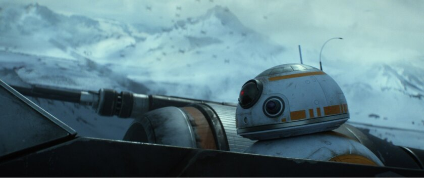 "BB-8 from ""Star Wars: The Force Awakens"""