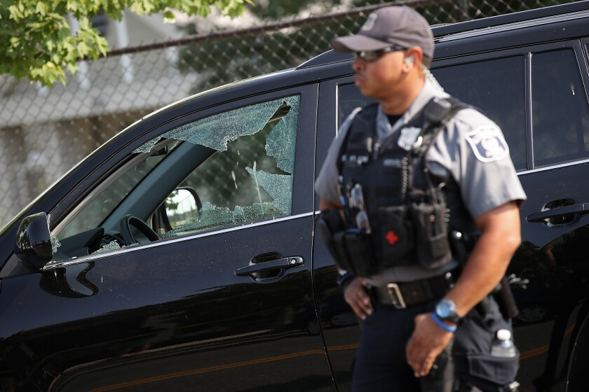 Shooting at congressional softball practice in Alexandria