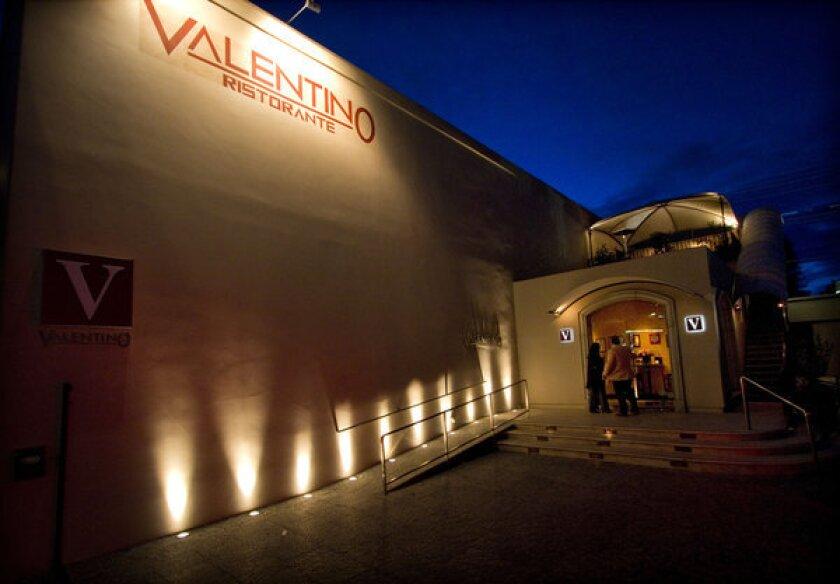 Santa Monica's landmark Valentino restaurant is on the market for $4.9 million.
