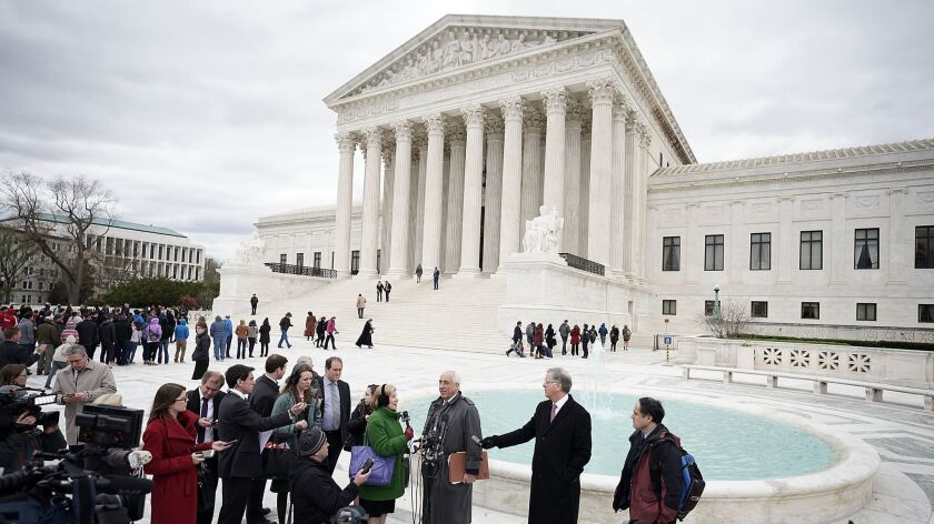 Supreme Court Hears Arguments On Tax Burdens On E-Commerce Businesses