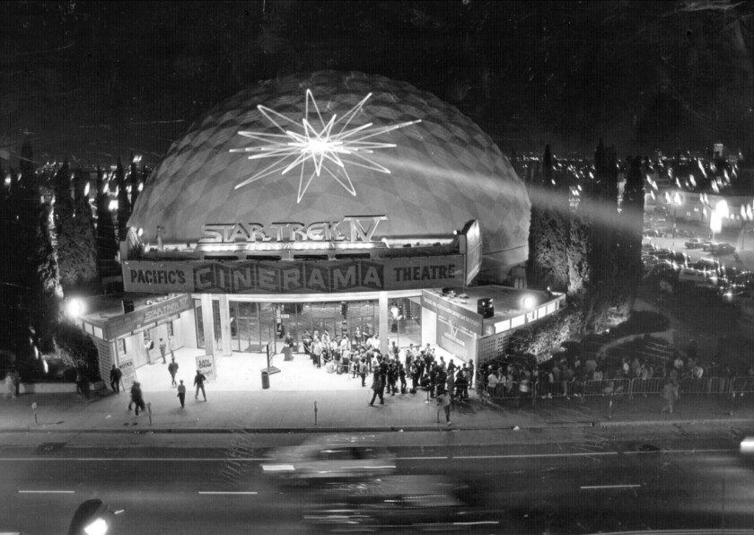 Steven Spielberg and others to celebrate Cinerama Dome's