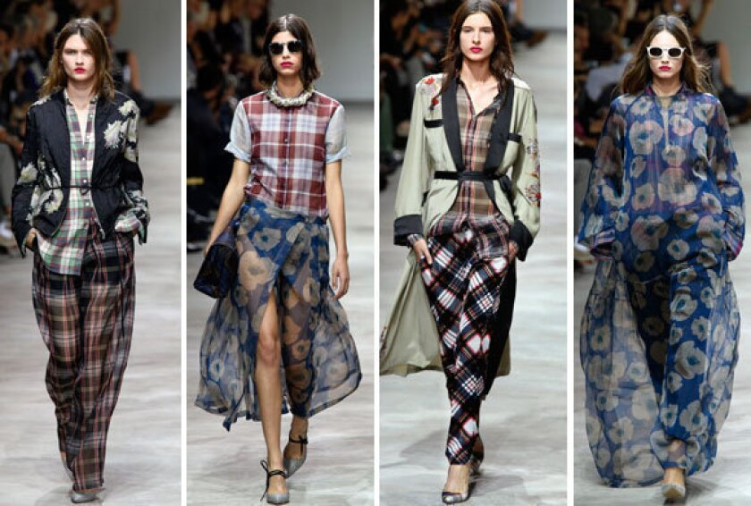Paris Fashion Week 2013: Dries Van Noten goes grunge