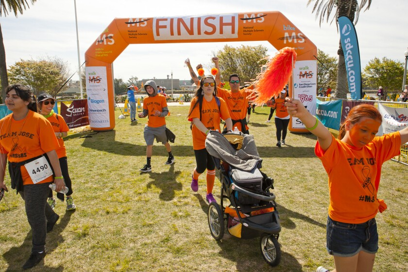 Walk to cure MS