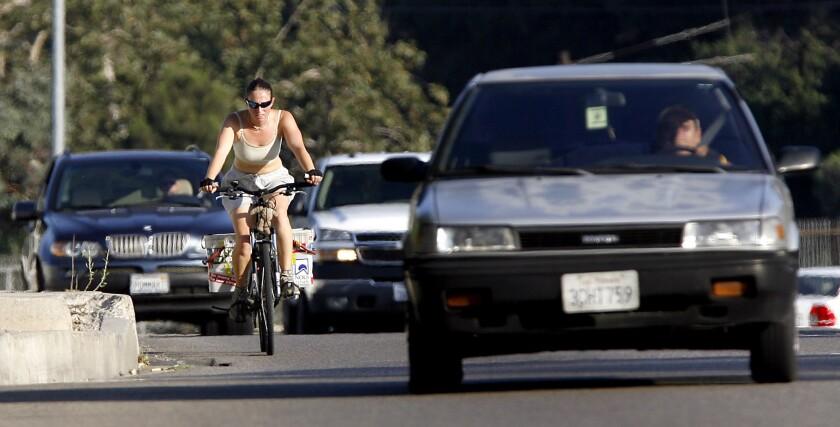 Burbank bike lanes