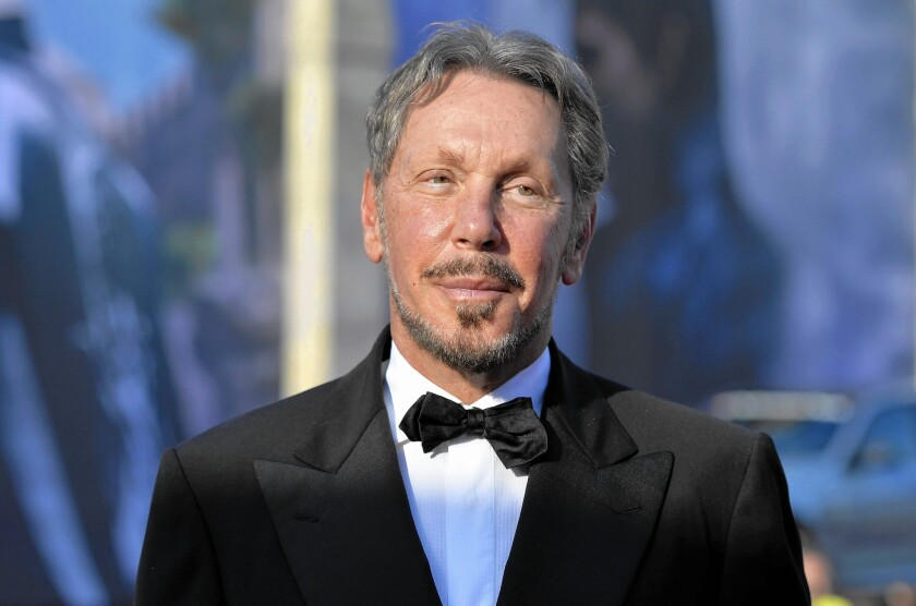 Larry Ellison, co-founder of Oracle Corp.