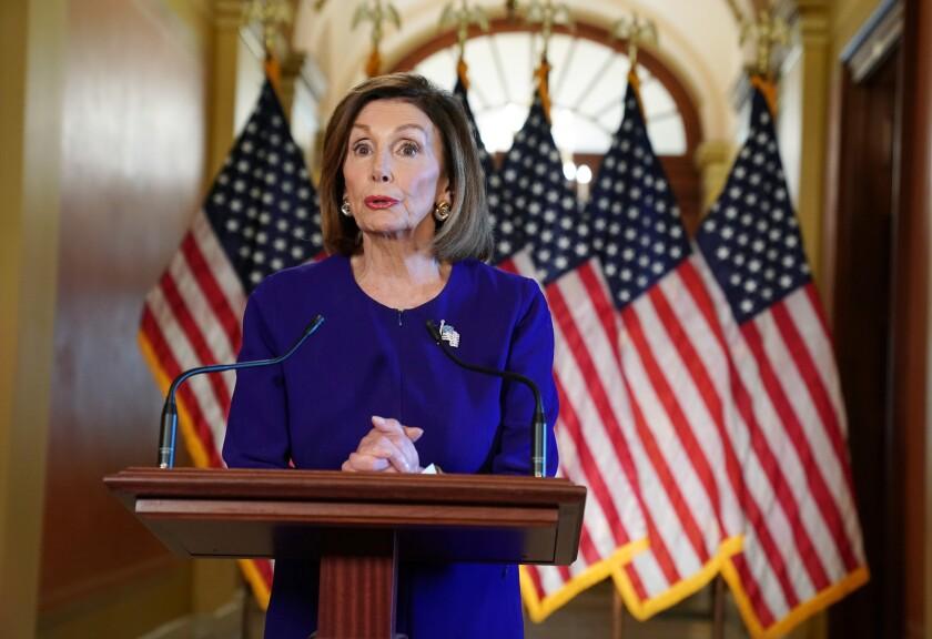 House Speaker Nancy Pelosi announces a formal impeachment inquiry into President Trump.