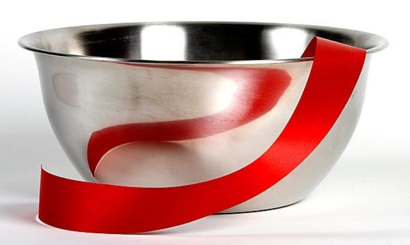 Cooks will get a lot of use out of a metal bowl.