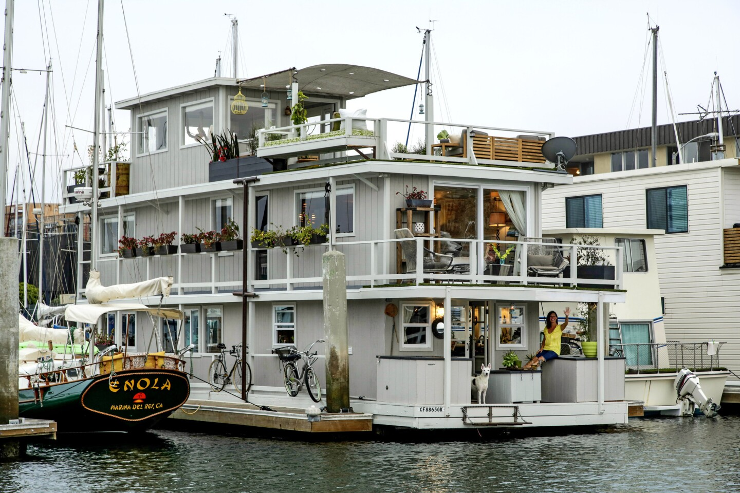 The houseboat remodel