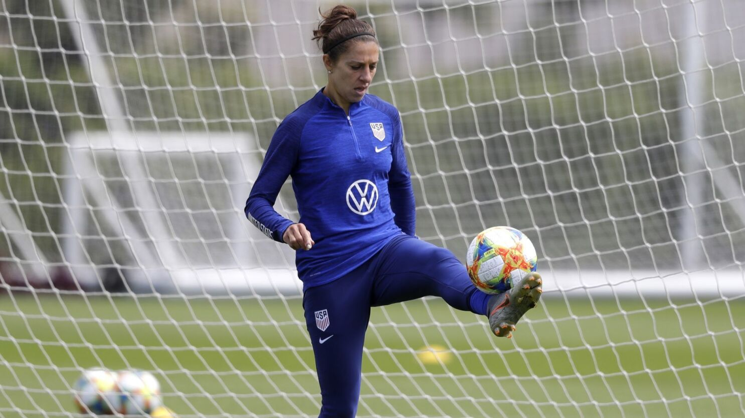 Column Carli Lloyd Is Now America S Seething Weapon At The Women S World Cup Los Angeles Times