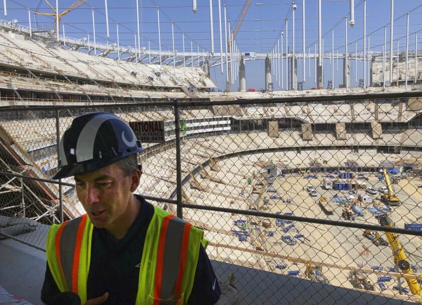 Inglewood Stadium-Super Bowl Football