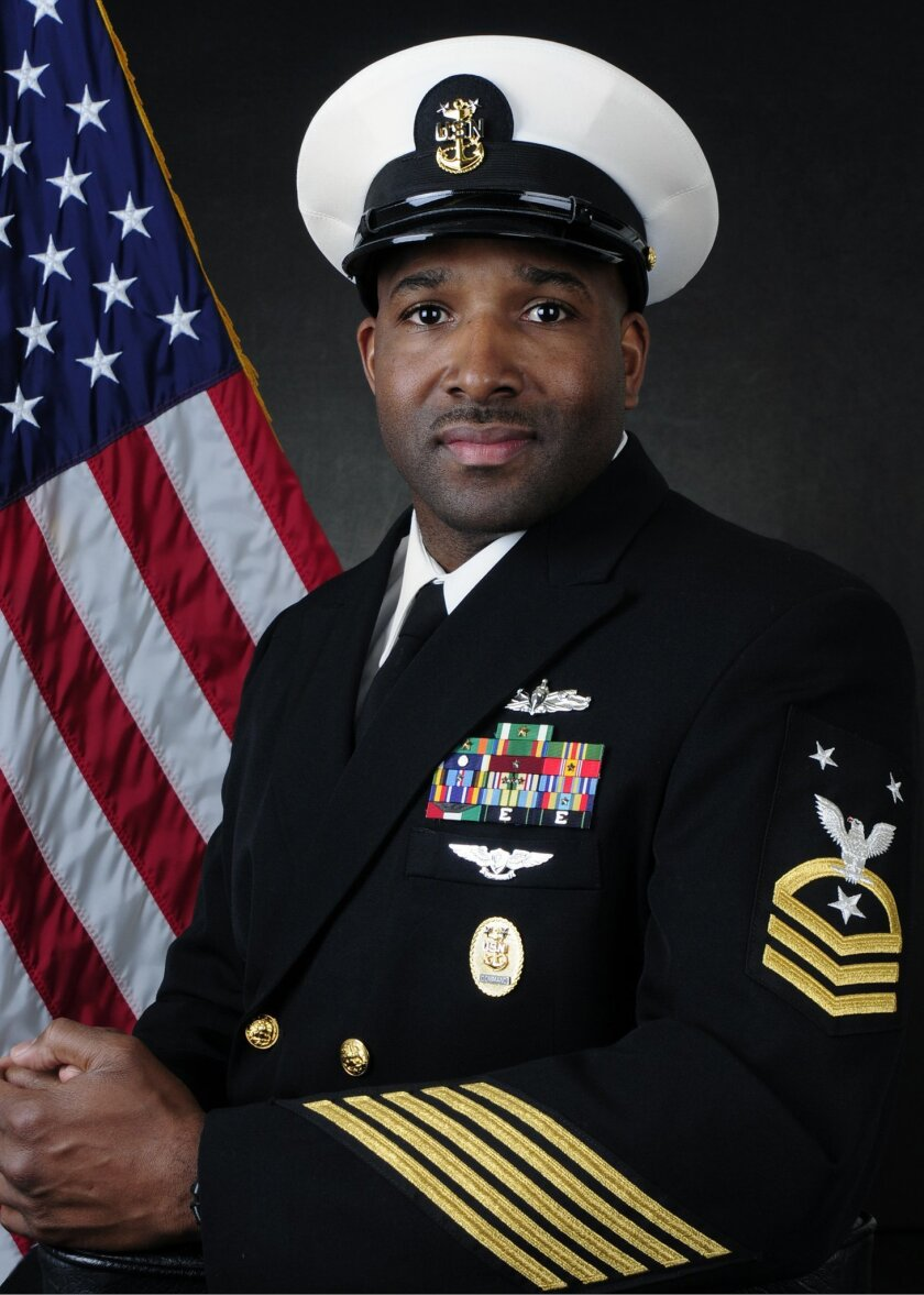 Command Master Chief Petty Officer Ralph Crowder, III