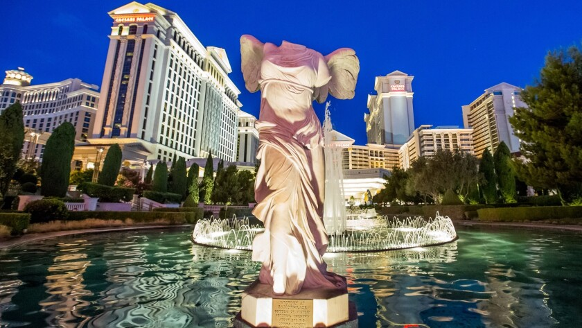 If you're bringing the whole family, low-priced rooms can be found along the Strip. At Caesars Palace, rooms on Thanksgiving Day start at $127.