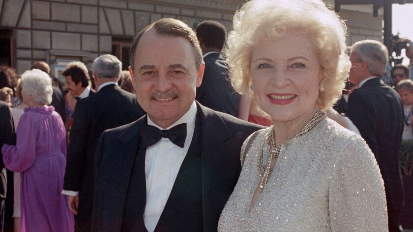 Betty White, John Hillerman