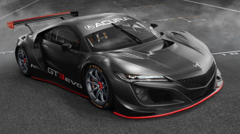 The Acura NSX GT3 Evo is a development of the Acura NSX GT3, a proven race-winner in both the IMSA W