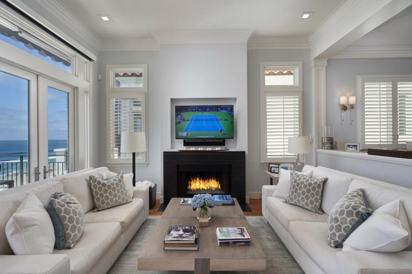 """This home near the Windansea Beach in La Jolla was selected as an HGTV """"Ultimate House""""."""