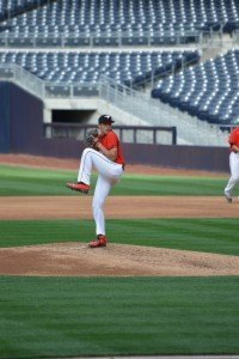 Chase Bushor at Petco Park. Courtesy photo