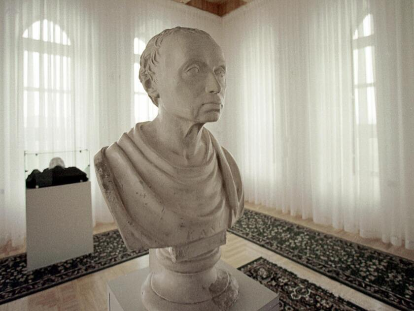 An argument in southern Russia over the philosopher Immanuel Kant, a bust of whom is seen here in Kaliningrad, led to one debater shooting the other with an air gun.