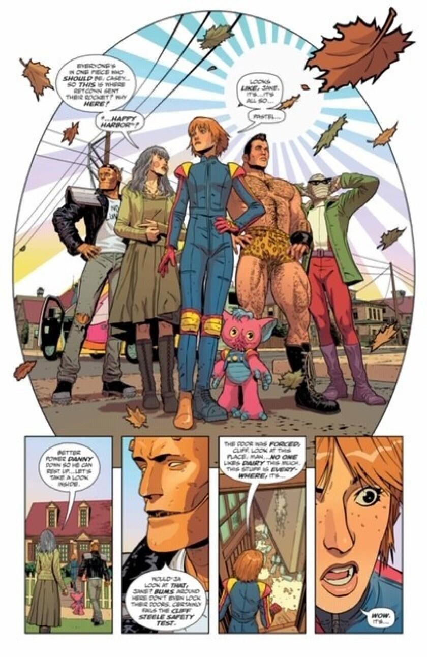 "Artwork from ""Doom Patrol"" Credit: DC Comics/Young Animal"
