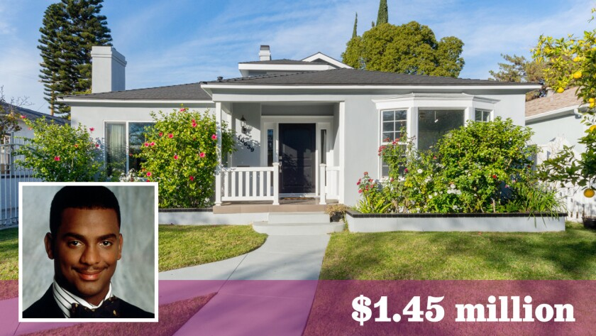 Actor and TV host Alfonso Ribeiro has sold his Toluca Lake home of more than a decade for $1.45 million.