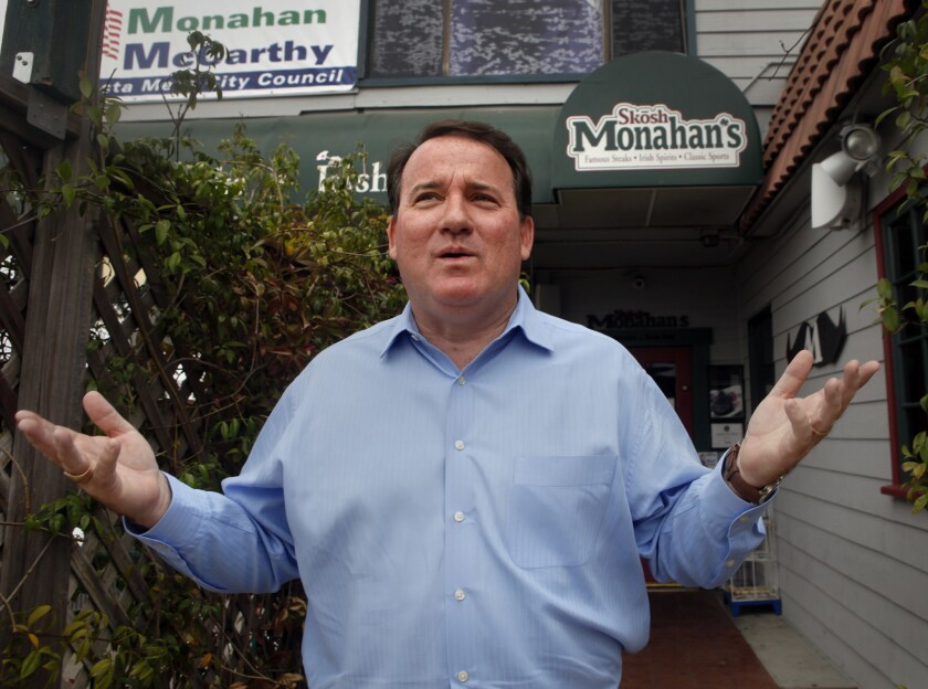 Costa Mesa Mayor Jim Righeimer claims he was being set up when a private eye called 911 to report that he appeared to be driving drunk.