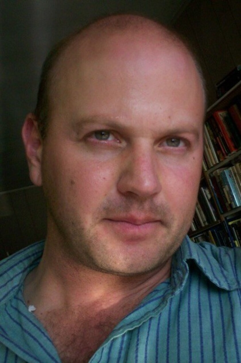 """Anthony Seidman (the translator) of """"A Stab in the Dark"""" by Facundo Bernal."""