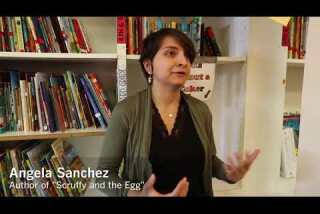 Angela Sanchez describes what inspired her to write 'Scruffy and the Egg'