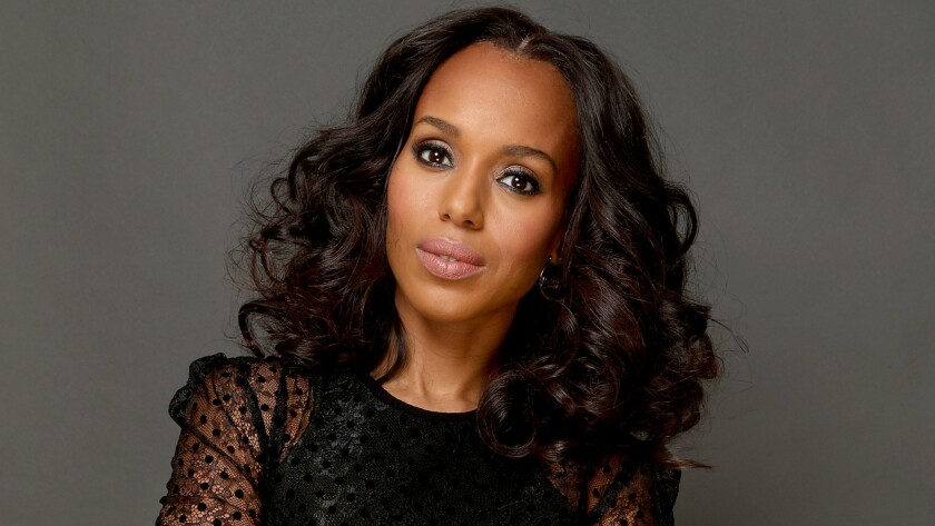 "Kerry Washington, who has devoted much of her time playing Olivia Pope in ABC's 'Scandal,"" ventured behind the scenes to take on the role of director in the drama's final season."