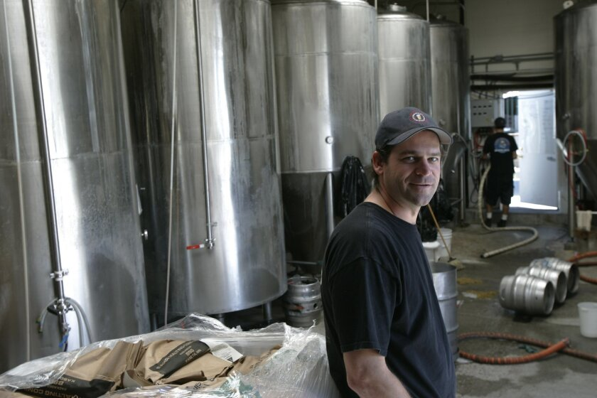 Pizza Port in Carlsbad, led by Jeff Bagby, won large brewpub honors at the Great American Beer Festival in 2009. File photo