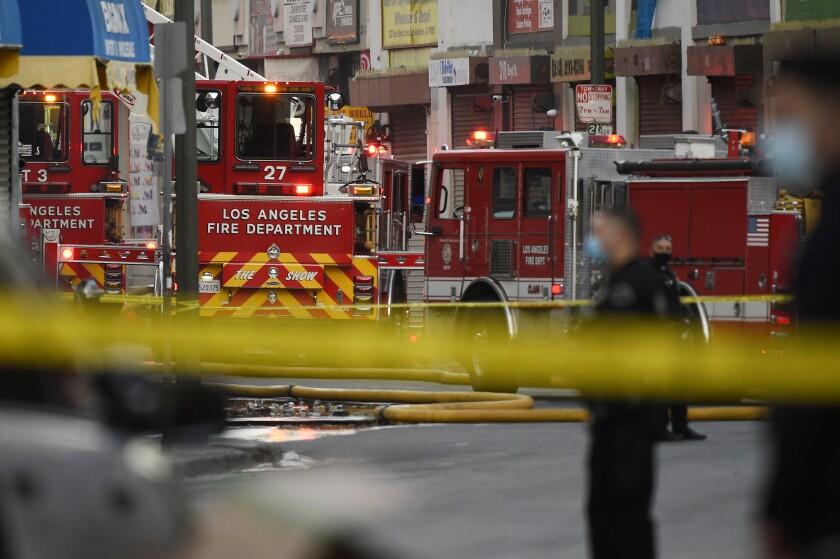 Los Angeles Explosion