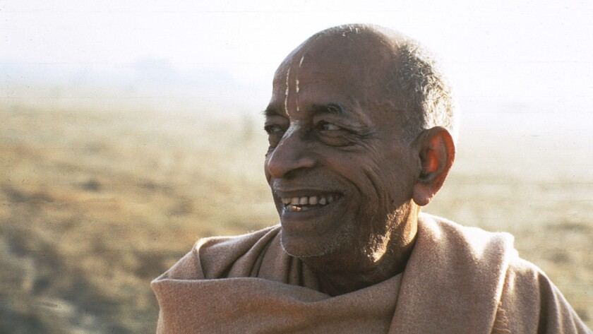 """Srila Prabhupada from the documentary """"Hare Krishna! The Mantra, the Movement and the Swami Who Started It All."""""""