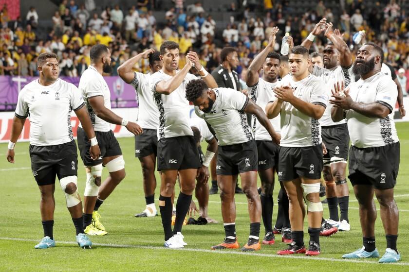 Japan Rugby WCup Australia Fiji