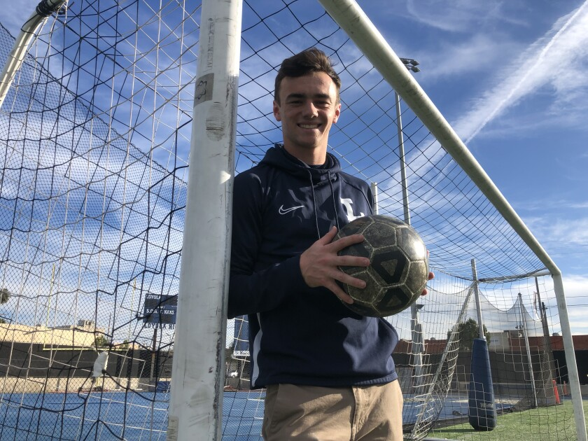 Grayson Doody of Loyola scored two goals in a 3-0 quarterfinal playoff victory over Santa Ana.