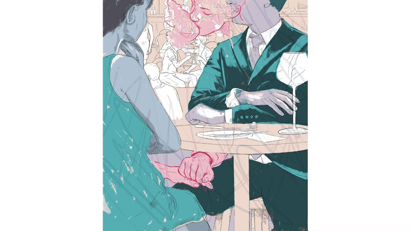 When a clandestine office romance goes south — in public.