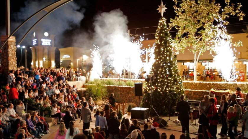 The Santee Holiday Lighting Celebration will be held Nov. 18 from 5:30 to 8:30 p.m. at the Trolley Square Shopping Center.