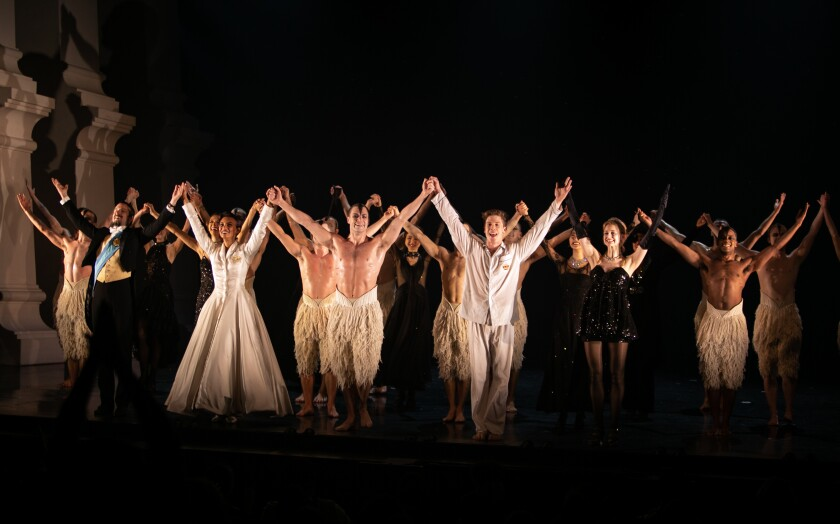 Curtain call. The production, which has been receiving a rapturous reception, runs through Jan. 5.